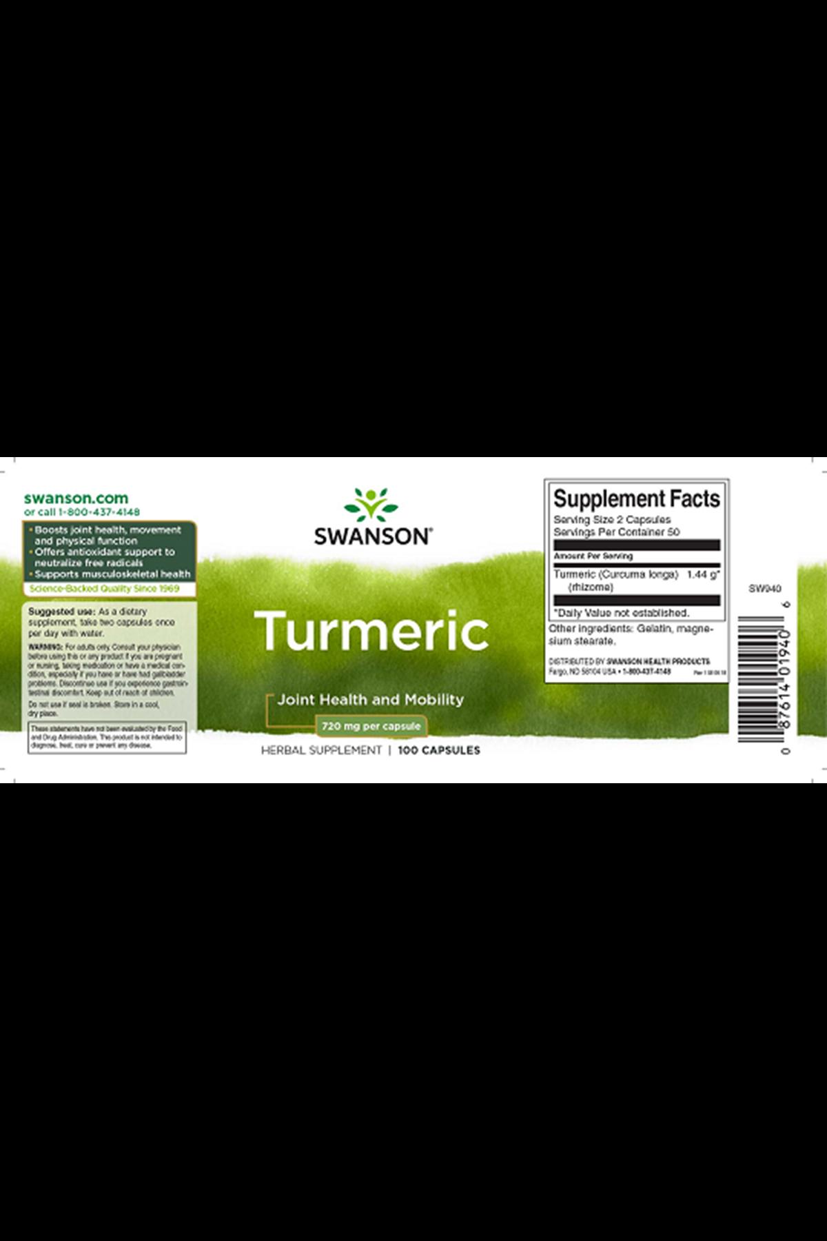 Full Spectrum Turmeric